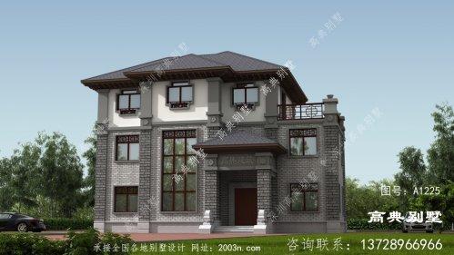 雅韵复古的中式别墅,建一栋你就是人生赢家了