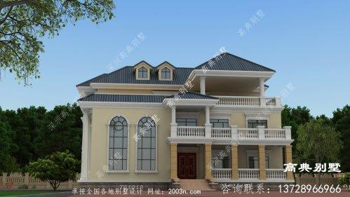 三层欧式别墅设计,经典震撼!