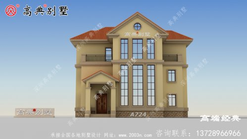 姜堰市三层楼房图片,设计合理外