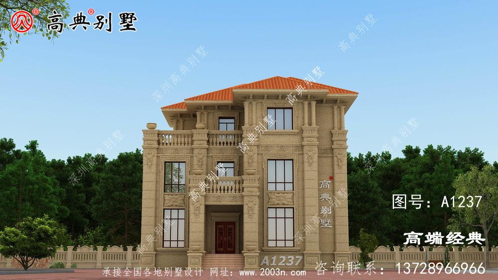 阳江市三层房屋设计图,户型经典耐看