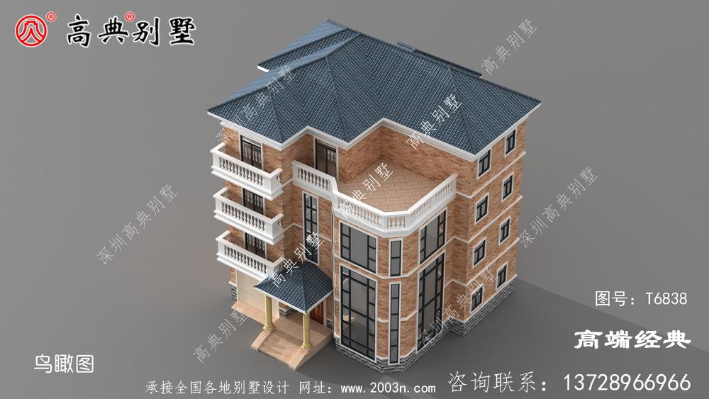 农村四层住宅乡墅户型图,颜值比较高长乐市