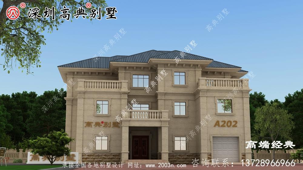 2020年新款现代别墅图,风格独特,经典耐看