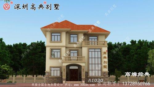 欧式别墅设计图十分豪气,造型精