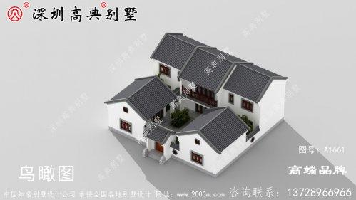 两层农村别墅设计图,现在很多人