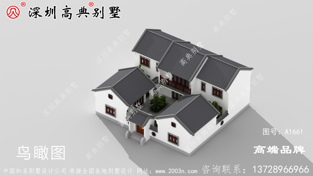 两层农村别墅设计图,现在很多人都喜欢建,既省钱又实用