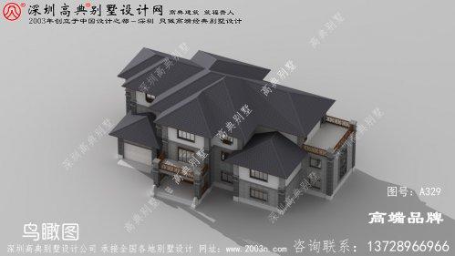 三层别墅设计图,每一款都布局合