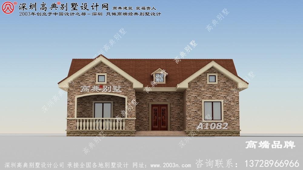 一层房屋设计图,简单大方