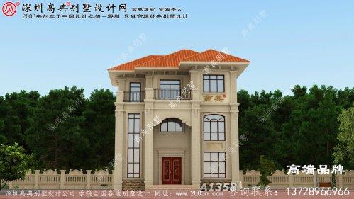 三层别墅 ,非常适合 建在乡村 ,时尚 前卫 ,简