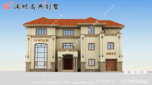 乡村三楼自营住宅照片,养老别墅