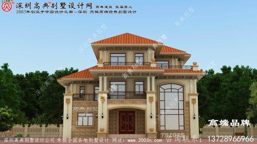 别墅设计图,豪华不失大气,空间