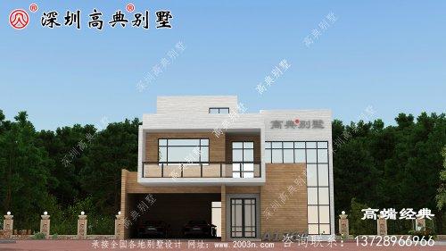 农村最新房子款式,简单大气,农