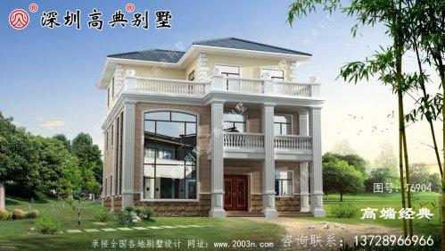 现代三层楼房图片,设计合理外观