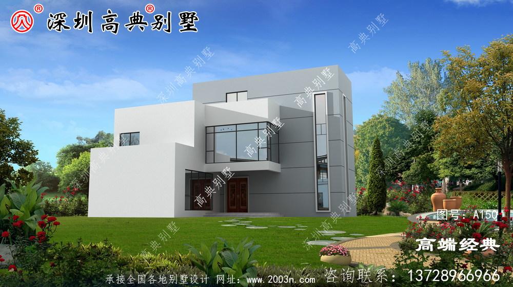 一栋三层别墅的设计图,太华丽了,让邻居羡慕吧。