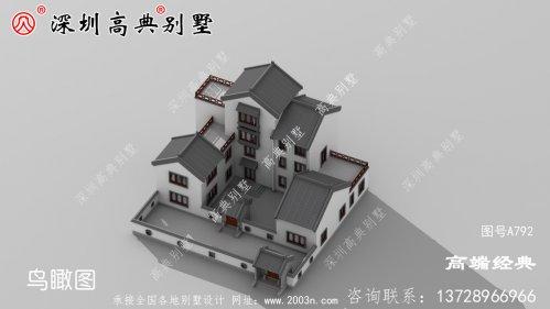 新农村自建房设计图及效果图,外