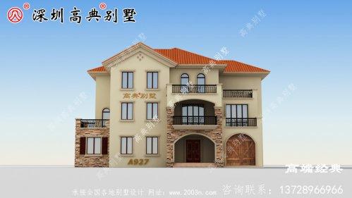 乡下二层半别墅设计图,绝对的一眼惊艳到你