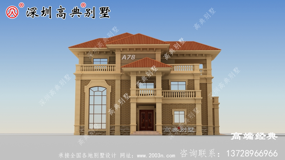 简欧风格一套华丽豪宅的既视感 ,外观非常优雅