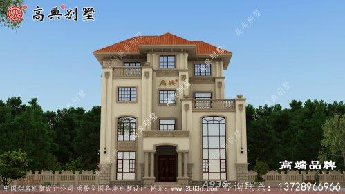 别墅分层装饰,阳台和露台错落有