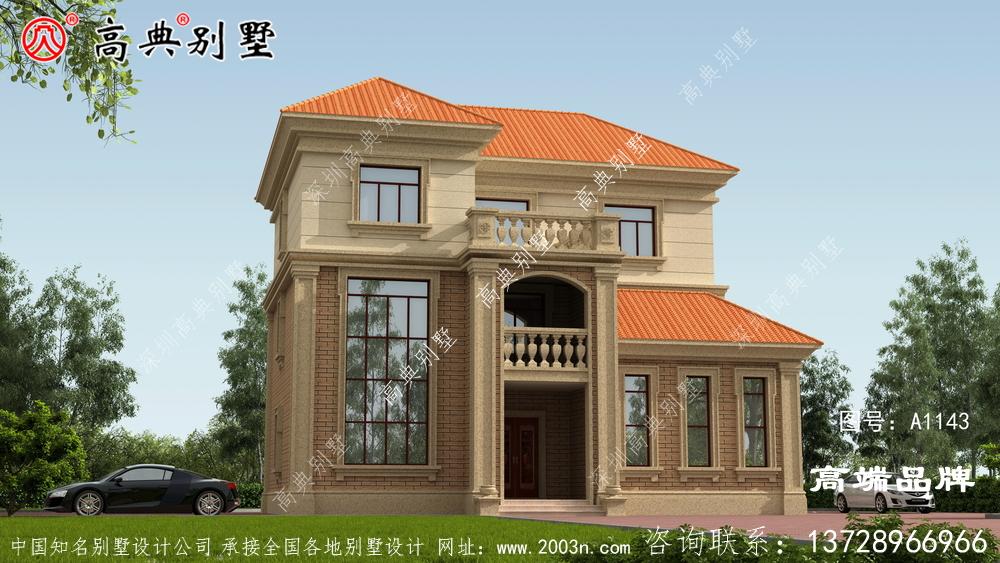 简洁风格别墅不仅体面大气而且造价也不贵