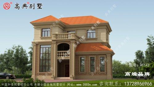 简洁风格别墅不仅体面大气而且造