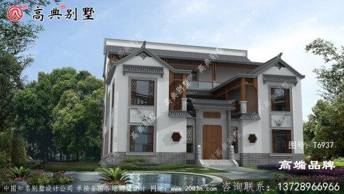 中式别墅户型为业主提供更完美的