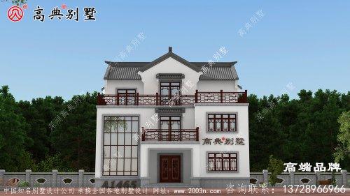 看遍各种风格别墅,还是中式别墅