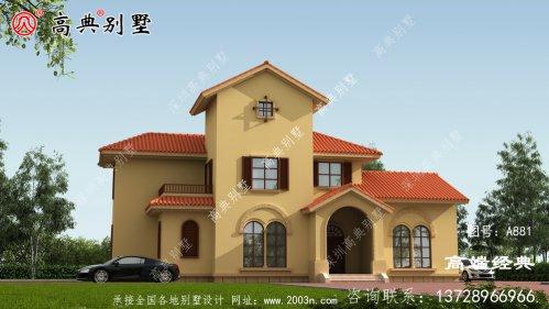 乡村自建别墅,外形美观、价格优