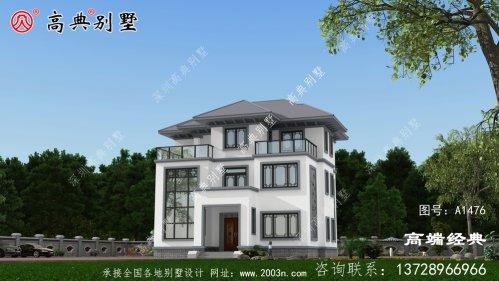农村新建房,简约的新中式新潮流