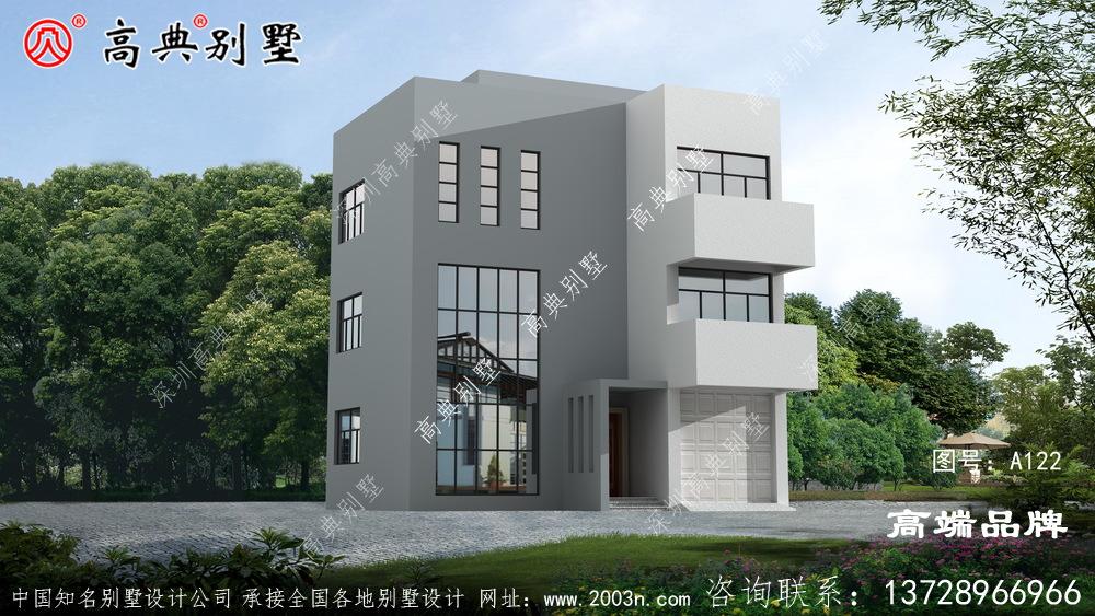 现代风格房屋结构层次分明,居住生活更加方便