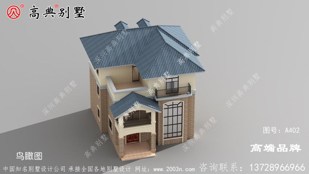 乡村三层欧式别墅设计图纸,真正值得建的好房子